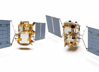 La futura constelación de satélites argentino-brasileños.