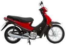 La motocicleta más vendida es esta Zanella.