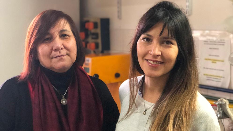 Patricia Vázquez y Romina Arreche. FOTO Gentileza investigadores
